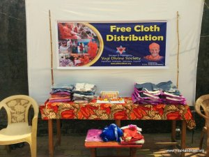 Free Cloth Distribution to Poor & Needy Youths @ Umber, Talangpur